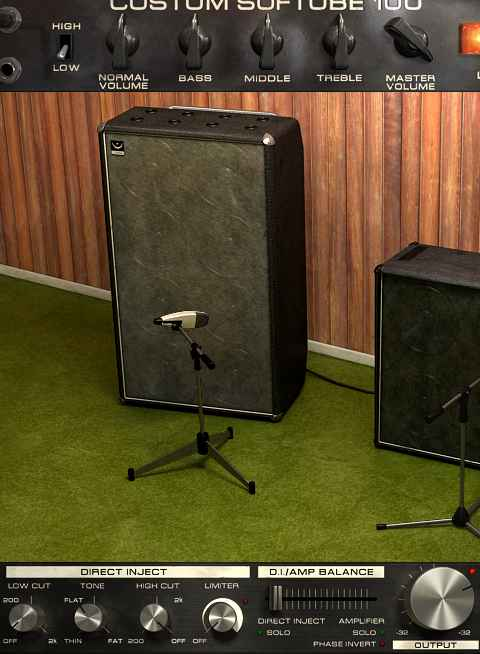 Softube Bass Amp Room - Baffle 8x12
