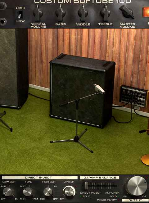 Softube Bass Amp Room - Baffle 4x12
